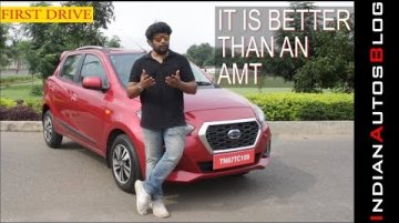 Datsun GO & GO+ CVT | First Drive | Easier To Drive Than a Hyundai Santro AMT