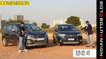 Mahindra Marazzo base model vs Maruti XL6 Alpha top model | Comparison