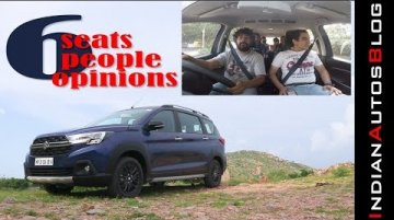 Maruti XL6 Interior Review With A Twist