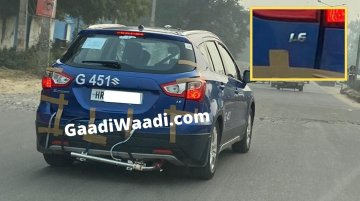 BS-VI Maruti S-Cross 1.6-litre diesel spied for the first time