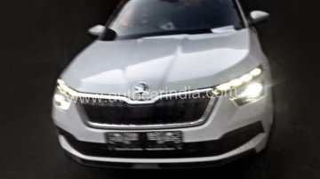 Skoda Kamiq spied in India for the first time