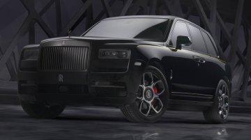 Rolls-Royce Cullinan Black Badge makes world debut