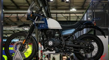 Royal Enfield EICMA 2019 stall - Image Gallery