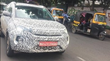 2020 Tata Nexon (facelift) spied on test once again