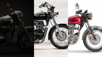 Jawa Perak vs. Royal Enfield Thunderbird 350 vs. Benelli Imperiale 400 - Spec Comparo