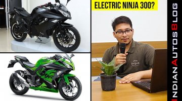 Upcoming Ninja 300 EV? Nope, Atomex 2.0 Electric Motorcycle