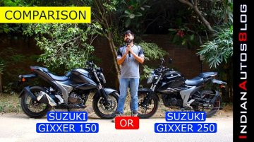 2019 Suzuki Gixxer 150 vs Gixxer 250 | Which one should you buy?