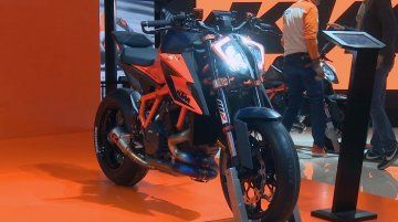 KTM stand at EICMA 2019 | KTM 390 Adventure, 2020 KTM 1290 Super Duke R and 890 Duke R