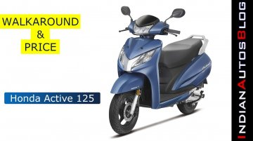 Honda Activa 125 Walkaround & Price