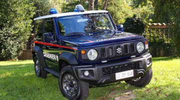 Could the Suzuki Jimny join the Indian Police fleet? | Makes way into the Italian police fleet