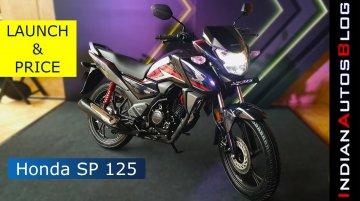 New Honda SP 125 BS-VI Launch | Price and Walkaround (Hindi)