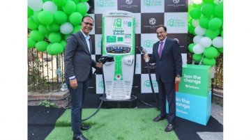 MG establishes EV charging stations to gear up for ZS EV launch
