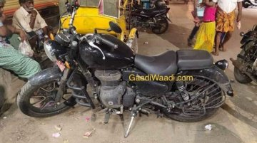 BS-VI compliant Royal Enfield Thunderbird spied sans camouflage