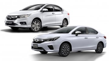 2020 Honda City vs. 2017 Honda City - Old vs. New