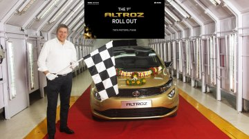 Tata Altroz production starts at Pune plant