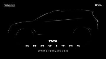Tata Gravitas से उठा पर्दा, Auto Expo 2020 में हो सकती है लॉन्च