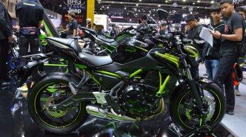 2020 Kawasaki Z650 at 2019 Thai Motor Expo - Image Gallery