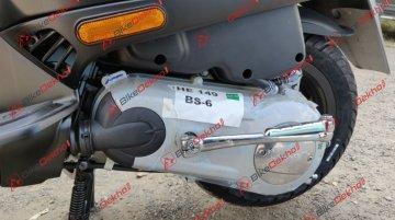 BS-VI Vespa SXL 150 - Image Gallery