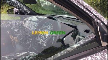 2020 Mahindra XUV500 interior spied [Video]