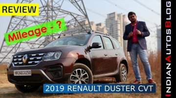 2019 Renault Duster Petrol Automatic (CVT) Hindi Review | Mileage Tested