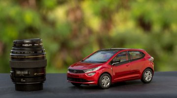 Tata Altroz scale model: Price, new details and more images revealed