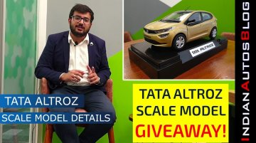 Tata Altroz Scale Model Inspection & FREE GIVEAWAY!