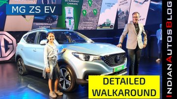 MG ZS EV Detailed Walkaround (Hindi) | Range & Features Revealed