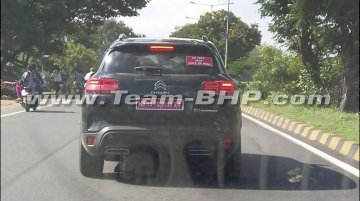 Citroen C5 Aircross spied on test in India, to be launched in 2020 [Video]