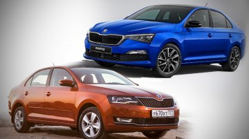 2020 Skoda Rapid vs. 2017 Skoda Rapid - Old vs. New