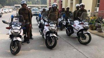 Suzuki Gixxer SF 250 joins Gurugram Traffic Police fleet