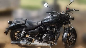 Next-gen Royal Enfield Thunderbird spied in detail