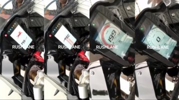 New footage reveals details of BS-VI TVS Apache RR 310's new TFT colour display [Video]