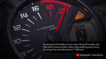 Kawasaki Ninja ZX-25R redlines at 17,000 rpm [Video]