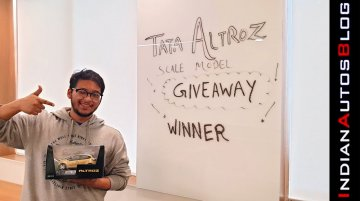 Tata Altroz Giveaway Winner Announced