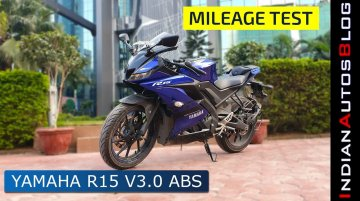 Yamaha R15 v3.0 ABS Mileage Test | Great Mileage & Great Performance