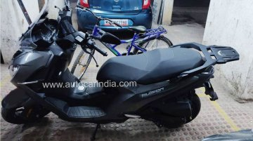Peugeot Pulsion maxi-scooter spied in India