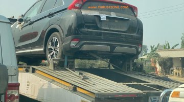 Mitsubishi Eclipse Cross spied in India for the first time