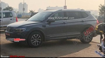 VW Tiguan Allspace spied in India again, to be launched in 2020
