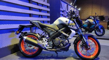 BS-VI Yamaha MT-15 with new Ice Fluo Vermillion colour option unveiled