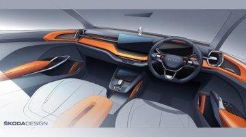 Skoda Vision In एसयूवी कॉन्सेप्ट का टीजर जारी, Auto Expo 2020 में डेब्यू