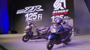 BS-VI Yamaha Ray ZR 125 FI and Yamaha Street Rally 125 FI unveiled