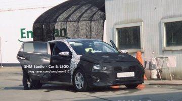 Mid-range 2020 Hyundai i20 with wheel caps spied in S. Korea