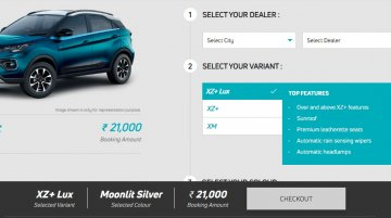 Tata Nexon EV pre-bookings open, to be launched next month