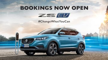 MZ ZS EV pre-bookings open ahead of January 2020 launch