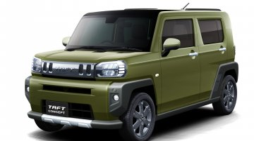 Daihatsu Taft concept with Maruti S-Presso-inspired face unveiled