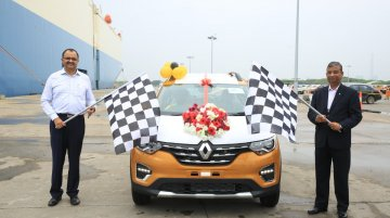 Renault Triber exports commence, first batch shipped to South Africa