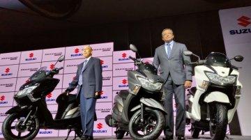 Suzuki Burgman Street 150 ऑटो एक्सपो 2020 में कर सकती है डेब्यू