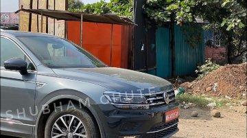 ऩ्यू जेनरेशन VW Tiguan Allspace स्पॉटेड, R-Line ट्रिम में होगी लॉन्च