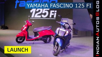 Yamaha Fascino 125 FI BS-VI | Launch & Walkaround