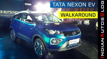 Tata Nexon EV Unveiled | Walkaround & Design Updates